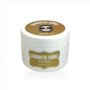 URBAN CITY Carbonated Bubble Gold Mask 100ml