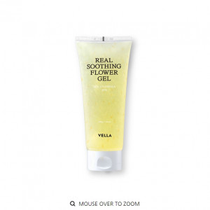 [SALE] VELLA Real Soothing Flower Gel 200g
