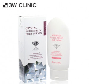 [SALE] 3W CLINIC Crystal White Milky Body Lotion 150g