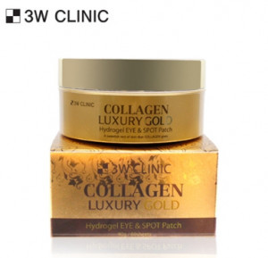 [SALE] 3W CLINIC Collagen Luxury Gold Hydrogel Eye & Spot Patch 60sheets