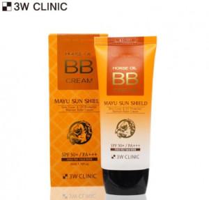 [SALE] 3W CLINIC Mayu Sun Shield BB Cream SPF 50+/Pa+++ 50ml
