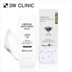 [SALE] 3W CLINIC Crystal White Milky Pack 200g