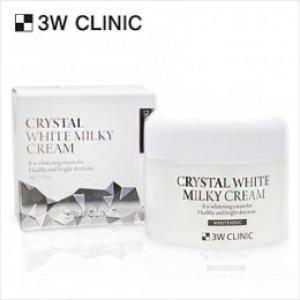 [SALE] 3W CLINIC Crystal White Milky Cream 50g